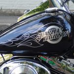 Harley Davidson tankki teippaus